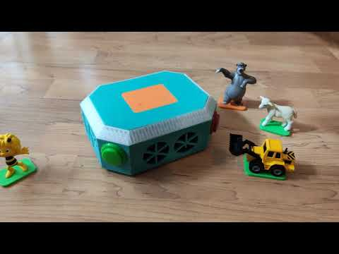 Marta Musik Maschine - 3D Printed DIY Tonie Box - Demo