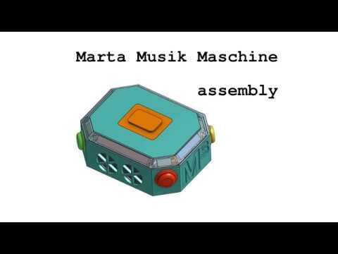 Marta Musik Maschine - 3D Printed DIY Tonie Box - Assembly